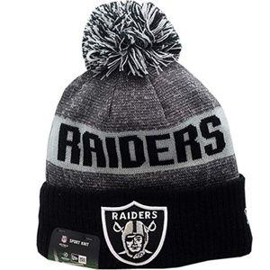 NFL Oakland Raiders Sport Knit Pom Beanie Hat